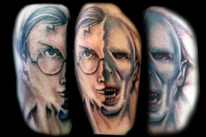 harry potter voldemort tattoo-inksomnia